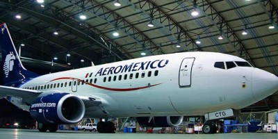AeroMexico dagligt fra Amsterdam